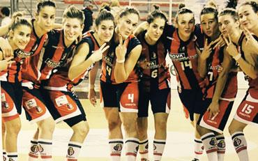Libertas Basketball Team sponsored by Felplast