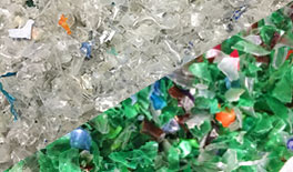 PET Bottle Flake recycled materials