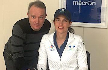 LPGA golfer Giulia Molinaro